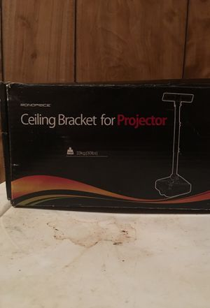 Monoprice ceiling projector bracket will hold up to 50 lbs. made of metal. for Sale in Monroe, LA