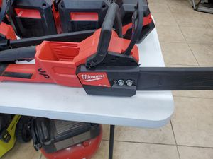 Milwaukee Fuel chainsaw 200$!!! Tool only for Sale in Fort Worth, TX