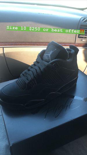 Air Jordan 4 Retro (Black cat) for Sale in Glenolden, PA