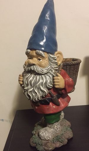 Flower pot garden gnome for Sale in West Jordan, UT