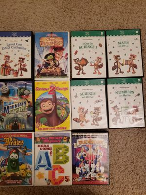 Educational 11 DVD's for kids for Sale in Anaheim, CA