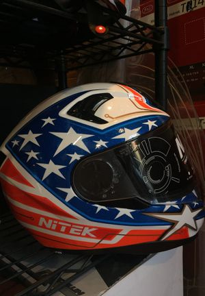 New American flag dot motorcycle helmet $120 for Sale in Whittier, CA