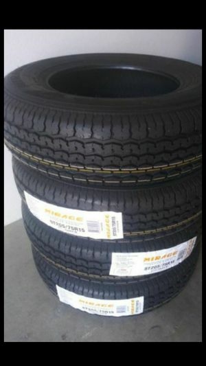ST205-75-15 Mirage Trailer Tire for Sale in Ontario, CA