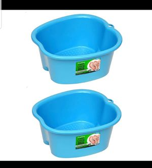 Foot Soaking Bath Basin (Set of 2) for Sale in Barstow, CA