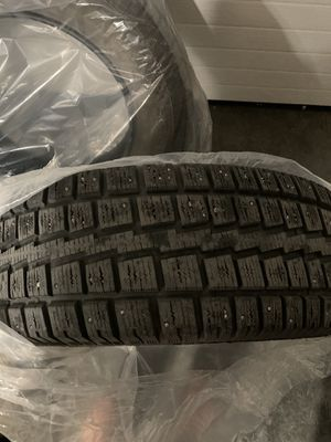 REDUCED!! Winter Studded Tires 245/65R17 for Sale in Anchorage, AK