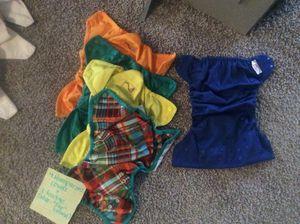 4 Rumparooz diaper covers ($10 ea) plus one freebie for Sale in Fort Worth, TX