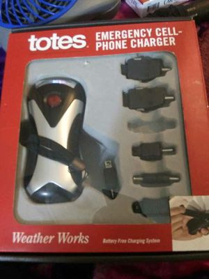 Totoes emergency cell phone charger for Sale in Seattle, WA
