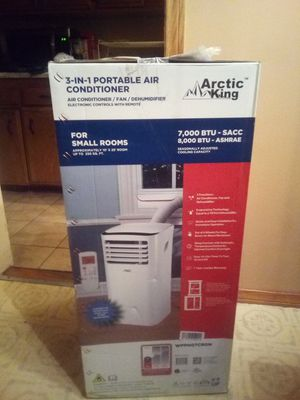 3 in 1 portable air conditioner/ fan/ dehumidifier for Sale in Riverside, CA