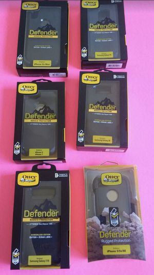 Otterbox Defender case for IPhone 5 / 6 / 7 / 8 / plus + / X / XR / Xs Max & Samsung Galaxy S7 / S8 / S9 / 10 / Edge / Plus + / Note 5 / 8 / 9 / for Sale in El Monte, CA