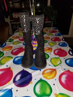 Girls toddler black boots size 12c for Sale in Stockton, CA