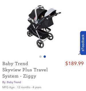 Baby stroller and car seat for Sale in Boston, MA