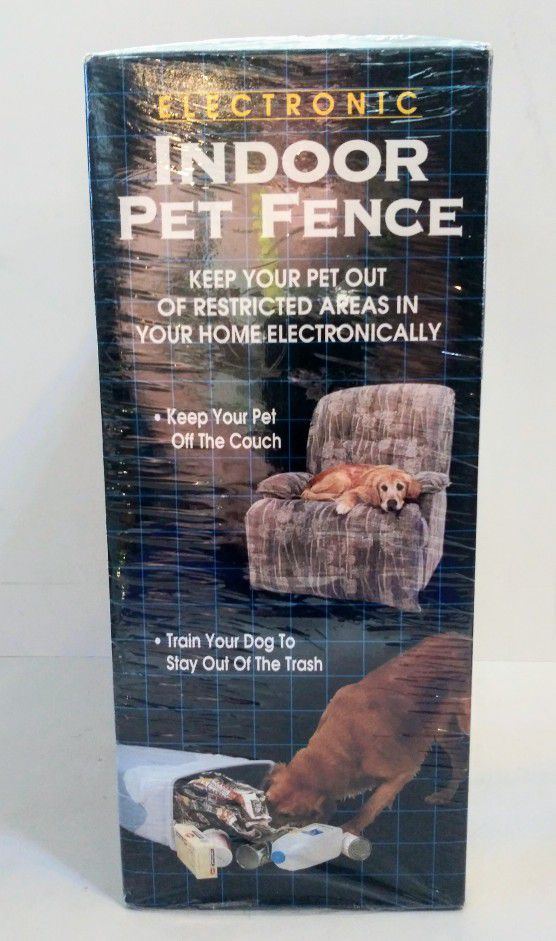 Electronic Indoor Pet Fence Train Restrict Your Dog Pet Supplies Made in USA