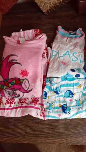 Trolls and dory pjs for Sale in Denver, CO