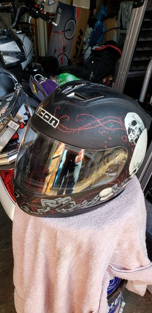Icon Skull Motorcycle Helmet - Size XXL for Sale in Washington, DC