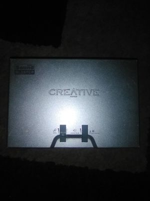 Creative USB Sound Blaster for Sale in Corpus Christi, TX