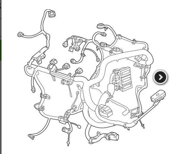 Cadilac/chevy Silverado Harness And Computer For Sale In