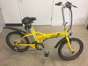 Electric folding bike for Sale in Ontario, CA