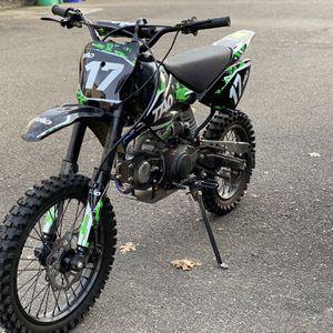 Taotao DB17 125cc Dirt Bike for Kids Dirt Bikes for Sale Green for Sale in Gresham, OR