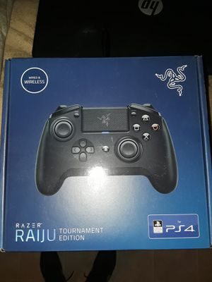Razor Raiju tournament edition PS4 controller for Sale in Vidor, TX