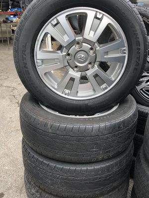 Toyota Tundra 2017 Rims With Continental Tires for Sale in Miami, FL