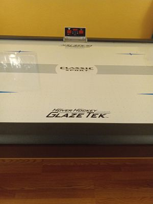 Air hockey table, Classic Sport Hover Hockey for Sale in Mill Creek, WA