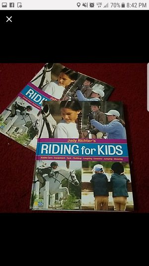 Riding for kids book for Sale in PA, US