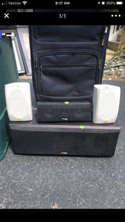 Polk audio surround speakers for Sale in Hazlet,  NJ