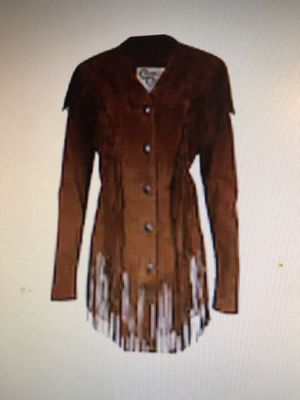 Cripple Creek fringe suede leather jacket for Sale in Pittsboro, IN