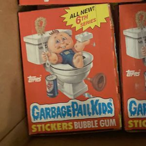 Garbage Pail Kids Gpk Os 6 Box 48 Packs for Sale in Covina, CA