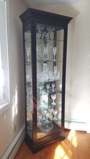 Curio Cabinet by Howard Miller Style Saloman for Sale in Northborough, MA