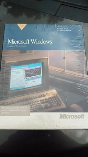 Vintage Windows 3.0 Software unopened for Sale in Middleburg Heights, OH