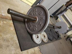 Deadlift Barbell Bundle for Sale in Long Beach, CA