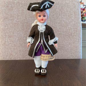Carlson Dolls- George Washington w/ tag for Sale in Tacoma, WA
