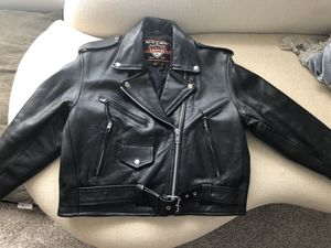 Ladies Leather Motorcycle Jacket (Lg) for Sale in Land O Lakes, FL