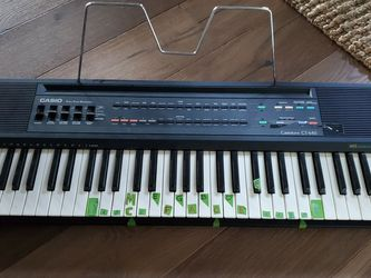 Casio 465 Sound Bank Keyboard for Sale in Snoqualmie Pass,  WA