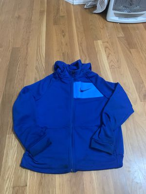 Boy jacket Nike blue size L for Sale in Temecula, CA
