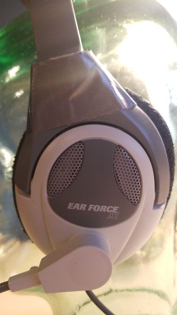 Turtle Beach Ear Force X1 Stereo Headset