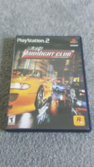 Midnight Club Street Racing - ps2 for Sale in Farmington, UT