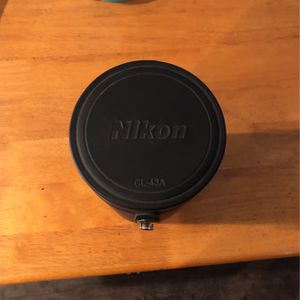 Nikon Lens Case (Nikon CL-43A) for Sale in Gilbert, AZ