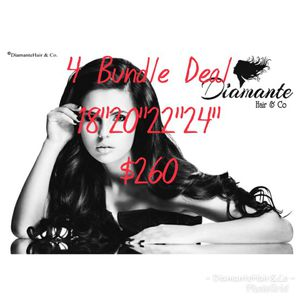 4 Bundle Hair Deal $260 for Sale in New York, NY