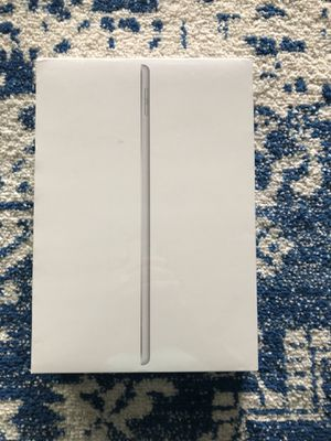 ipad 7th generation (10.2 inch) 128GB Silver Wifi - sealed for Sale in Pflugerville, TX