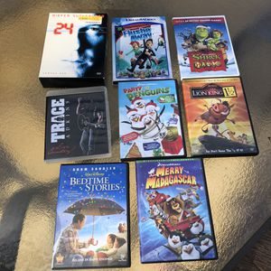 DVD MOVIES BUNDLE for Sale in Eaton, IN