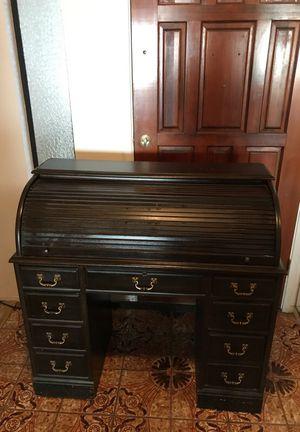 1960's-1970's replica roll top desk for Sale in Modesto, CA
