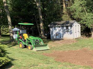 2018 John Deere Tractor 4x4 w/ backhoe for Sale in Ewing Township, NJ