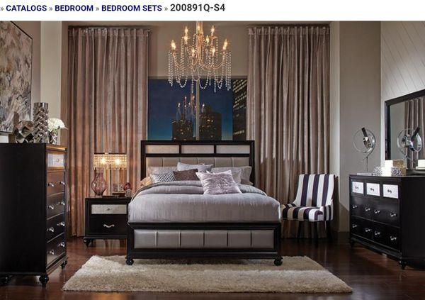 4ps queen bed set