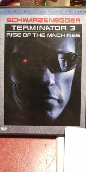 Terminator 3 dvd for Sale in Brainerd, MN