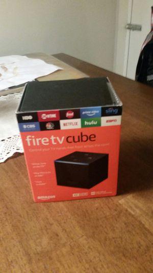 Amazon Fire Tv Cube for Sale in Andover, MA