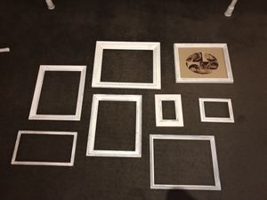 Set of 9 Shabby Chic Frames for gallery wall for Sale in Miami, FL