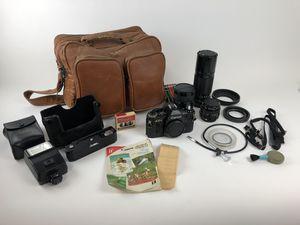 PERFECT Collector Cannon AE-1 camera bundle for Sale in Irvine, CA