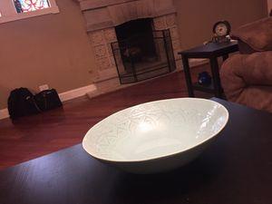 Teal/Cerulean blue presentation bowl for Sale in Baltimore, MD